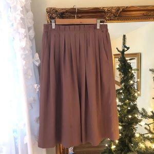 J Crew Midi Skirt